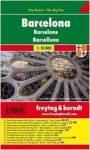 Barcelona, 1:10 000 City Pocket vízhatlan Freytag térkép PL 109 CP