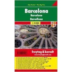 Barcelona tétkép 1:10 000 City Pocket vízhatlan Freytag
