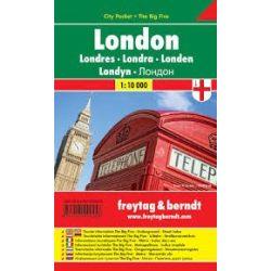 London, 1:10 000 City Pocket vízhatlan  Freytag térkép PL 32 CP
