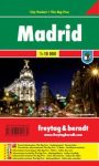 Madrid, 1:10 000 City Pocket vízhatlan  Freytag térkép PL 106 CP
