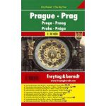 Prága, 1:10 000 City Pocket vízhatlan  Freytag térkép PL 22 CP