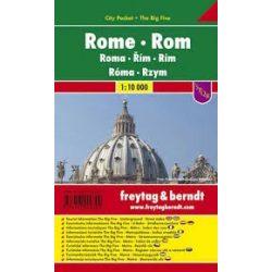 Róma, 1:10 000 City Pocket vízhatlan  Freytag térkép PL 68 CP