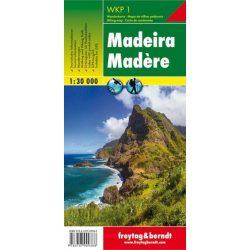 WKP 1 Madeira turistatérkép Freytag 1:30 000