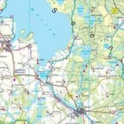 Mecklenburgi-tóhátság, Top 10 tipp, 1:150 000  Freytag térkép DEU 6