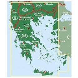Görögország térkép  1:700 000  Freytag térkép AK 0832