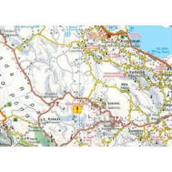 Korfu térkép 1:50 000  Freytag  AK 0831