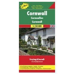 Cornwall, Top 10 tipp, 1:150 000   Freytag térkép AK 0289