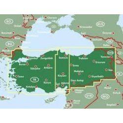 Törökország, 1:800 000  Freytag térkép AK 6003
