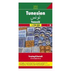 Tunézia térkép 1:700 000  Freytag 2009
