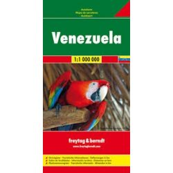 Venezuela, 1:1 000 000  Freytag térkép AK 162