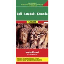 Bali-Lombok-Komodo, 1:125 000 Freytag térkép AK 163