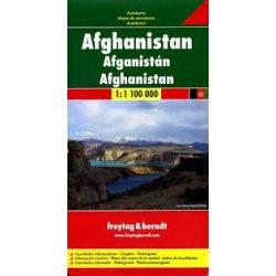 Afganisztán térkép 1:1 000 000 Freytag térkép AK 152