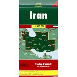 Irán térkép Freytag 1:1 500 000  AK 150