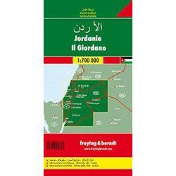 Jordánia térkép 1:700 000  Freytag  AK 157
