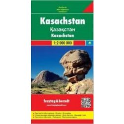 Kazahsztán, 1:2 000 000  Freytag térkép AK 156