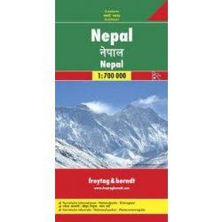 Nepál térkép 1:700 000  Freytag