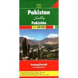 Pakisztán, 1: 1 500 000  Freytag térkép AK 153