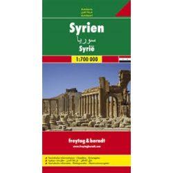Szíria térkép 1:700 000  Freytag