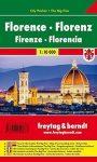 Firenze zseb térkép Freytag 1:10 000 City Pocket vízhatlan PL 30 CP