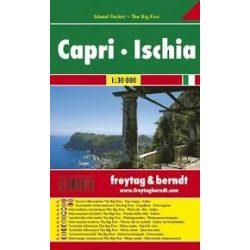 Capri, Ischia, Amalfi térkép  Freytag  1:40 000   AK 0606 IP