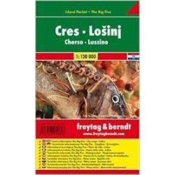 Cres-Lošinj, 1:130 000  Freytag térkép AK 0702 IP