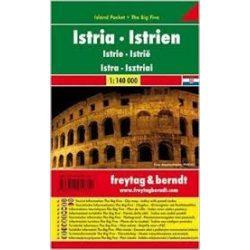 Isztria térkép Pocket fóliás térkép 1:140 000