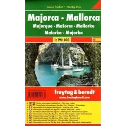 Mallorca, 1:190 000  Freytag térkép AK 0507 IP