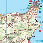 ROdosz térkép, 1: 120 000  Freytag  AK 0813 IP