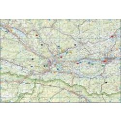 Karintiai tóvidék, 1:125 000  Freytag térkép LSP 2