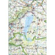 Fertő térkép, Neusiedler See, 1:75 000  Freytag térkép LSP 3