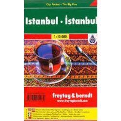 Isztambul térkép belváros 1:10 000 City Pocket vízhatlan Freytag
