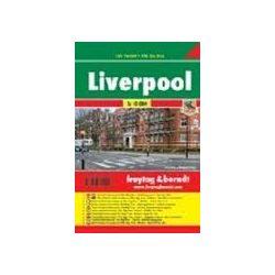 Liverpool térkép 1:10 000 City Pocket vízhatlan  Freytag térkép PL 131 CP