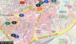 Santiago de Compostela, 1:10 000 City Pocket vízhatlan  Freytag térkép PL 132 CP