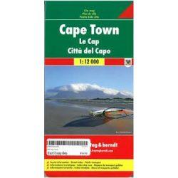 Cape Town térkép Freytag 1:12 000   Kapstadt térkép