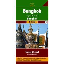 Bangkok térkép Freytag 1:9 000   2008