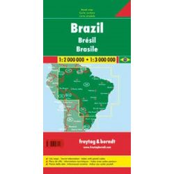 Brazília, 1:2 000 000 - 1:3 000 000 Freytag térkép AK 173