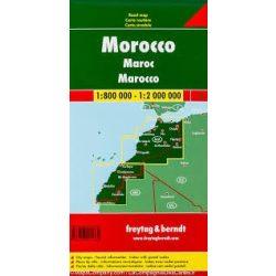 Marokkó térkép  Freytag 1:800 000-1:2 000 000  AK 175
