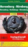 Nürnberg térkép 1:10 000 City Pocket vízhatlan  Freytag térkép PL 136 CP