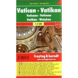 Vatikánváros, 1:2 500 City Pocket vízhatlan  Freytag térkép SCV 1 CP