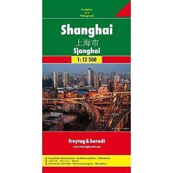 Shanghai térkép Freytag 2013  1:12 500