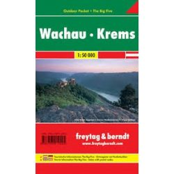 Wachau-Krems Outdoor Pocket (vízhatlan)  Freytag térkép WK 071 OUP
