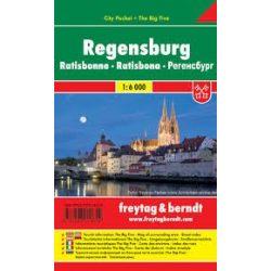 Regensburg, 1:6 000 City Pocket vízhatlan  Freytag térkép PL 91 CP