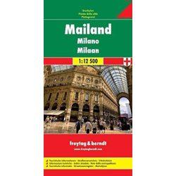 Milánó térkép Freytag & Berndt 1:12 500