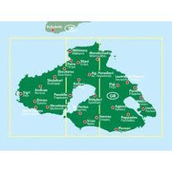 Lesbos térkép 1:50 000  Freytag térkép AK 0836