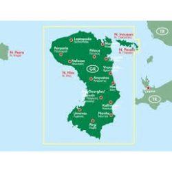 Hios, 1:50 000  Freytag térkép AK 0837