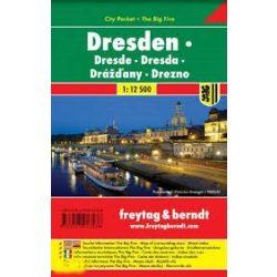 Drezda várostérkép 1:12 500 City Pocket vízhatlan  Freytag térkép PL 140 CP