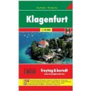 Klagenfurt 1:10 000 City Pocket vízhatlan  Freytag térkép PL 19 CP