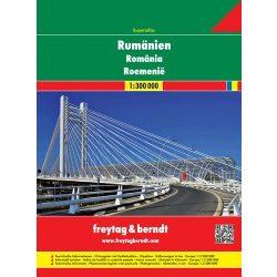 Románia atlasz Freytag 2012 1:300 000