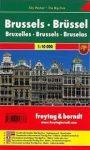 Brüsszel, 1:10 000 City Pocket vízhatlan Freytag térkép PL 119 CP