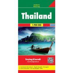 Thaiföld térkép Freytag & Berndt 1:900 000  AK 184